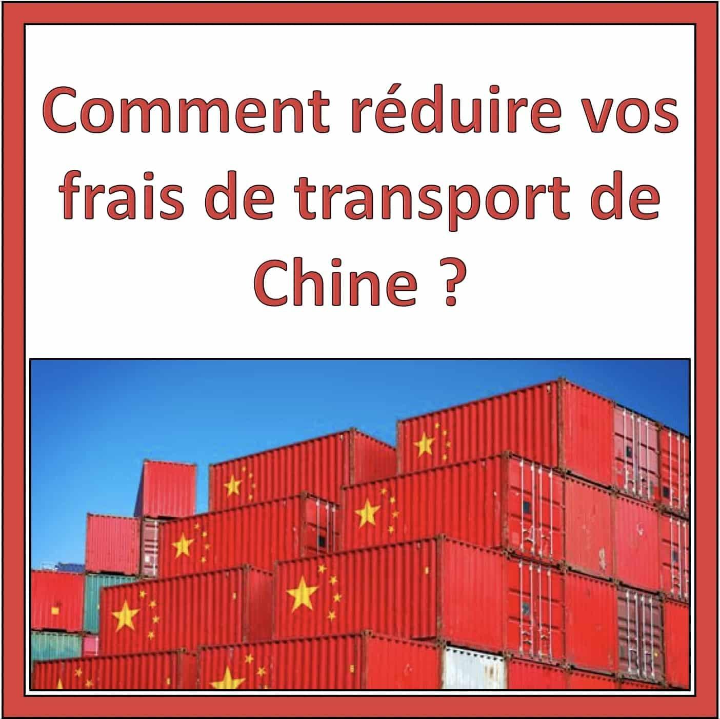 economiser transport chine