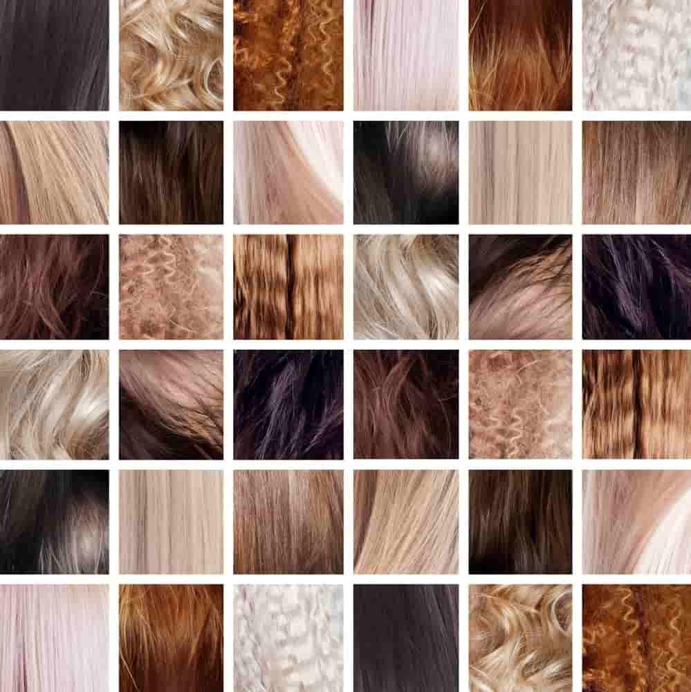 Types de cheveux