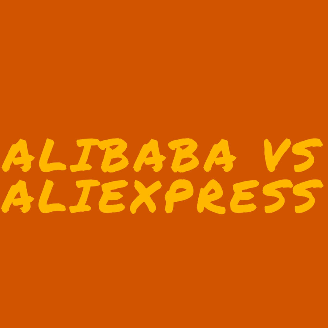 alibaba aliexpress comparaison