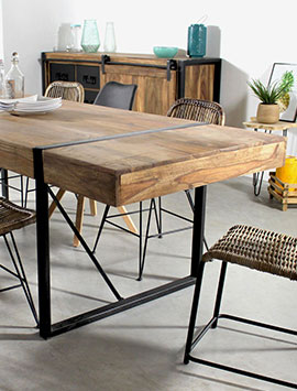 table style bois massif