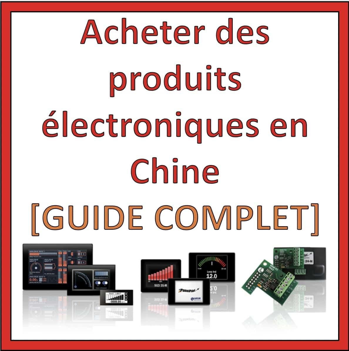 importer produit electronique chine