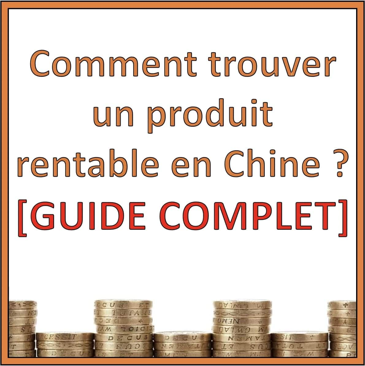produits rentable chine