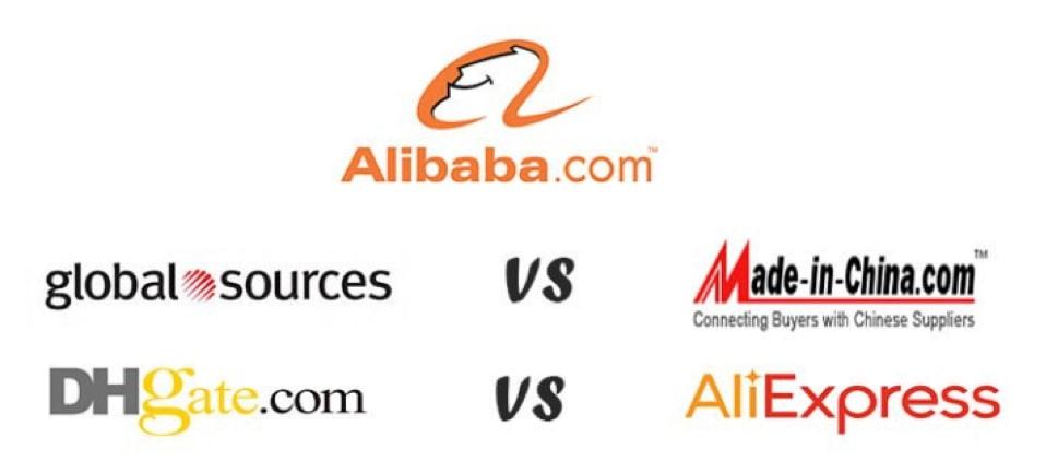 Différentes plateformes d'e-commerce