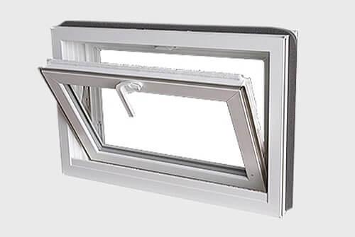 Fenêtre à trémie