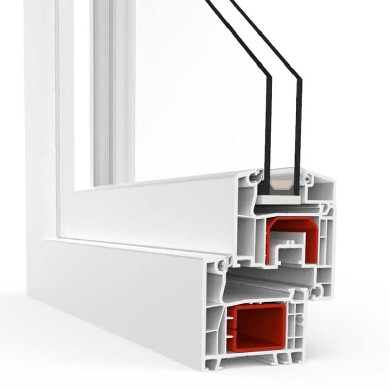 Fenêtres en PVC (vinyle) de Chine