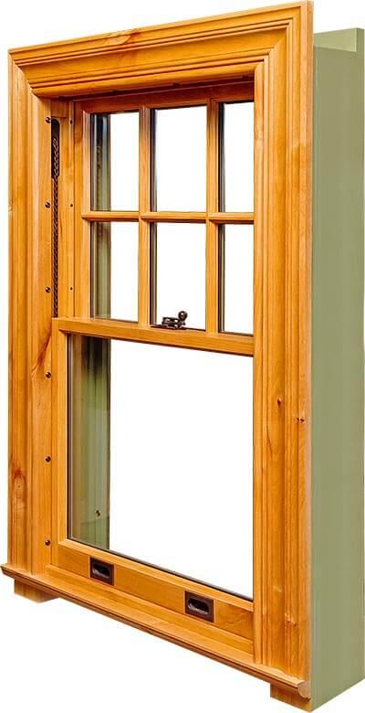 Fenêtres en bois de Chine