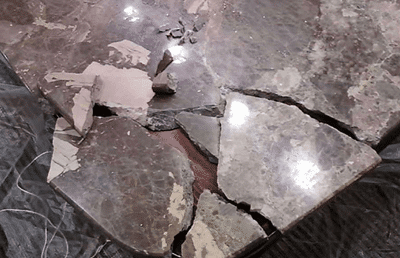 probleme qualite import pierre chine