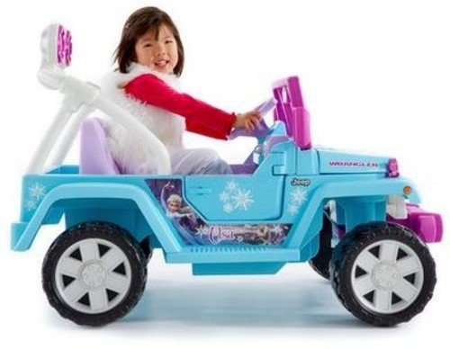 4x4 enfant jeep wrangler reine des neiges